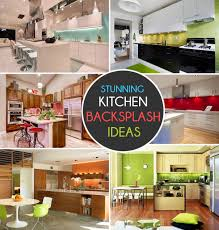 Paint Ideas For Kitchen by Kitchen Backsplash Ideas A Splattering Of The Most Popular Colors