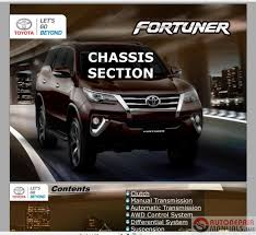 toyota fortuner 2017 service training auto repair manual forum