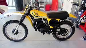 classic motocross bikes for sale 1976 yamaha yz100 motocross restoration ahrma vintage motocross