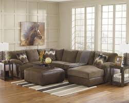 furniture stunning buy durablend mahogany sectional living room