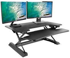 desk v000zb black height adjustable 36