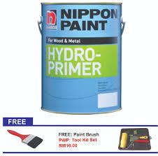 nippon paint hydro primer 1l wood u0026 metal 11street malaysia