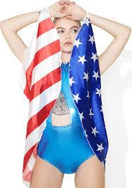 Flag Cape American Flag Wing Cape Dolls Kill