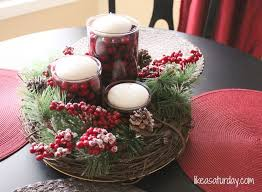 Christmas Table Decoration Images by 266 Best Christmas Candles Images On Pinterest Christmas