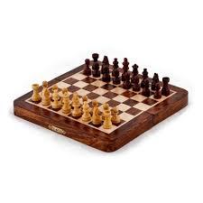 buy sheesham wood folding chess set oxfam shop