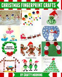 christmas fingerprint crafts u create bloglovin u0027