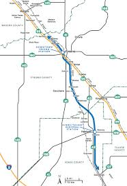 california high speed rail map california planners recommend fresno hanford for phase of