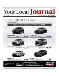 lexus rx 350 kijiji your local journal august 18 2016 by your local journal issuu