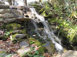 panoramio photo of garden waterfall at blowing rock