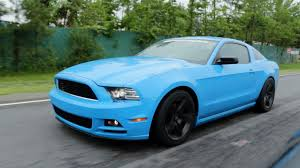 the with the blue mustang supercharged v6 3 7 mustang review papi boost