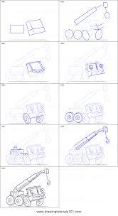 draw lofty bob builder printable step step