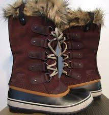 s sorel joan of arctic boots size 9 sorel womens joan of arctic waterproof insulated leather winter