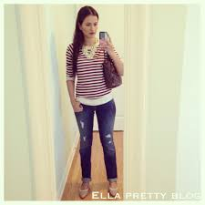 straight hair with outfits ella pretty blog 4 outfits and a hair cut
