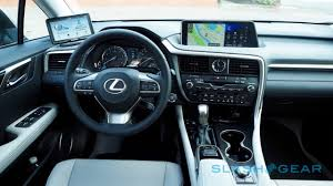 lexus crossover inside 2016 lexus rx first drive u2013 best seller goes bold slashgear