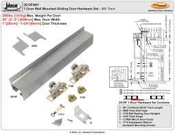 Barn Door Hardware Installation by Johnsonhardware Com Sliding Folding Pocket Door Hardware