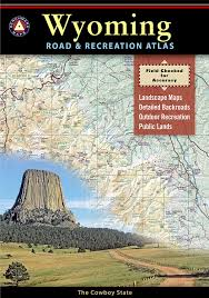 Montana Road Conditions Map by Wyoming Road U0026 Recreation Atlas Benchmark Maps 9780929591964