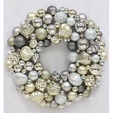 collins 26 shatterproof ornament wreath assorted bj s