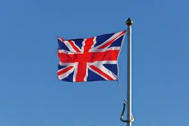 Flag Of The Uk Free Images White Wind Red Blue Flagpole Uk National