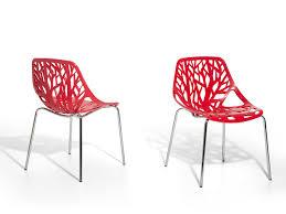 Esszimmerstuhl Kunststoff Stuhl Gartenstuhl Esszimmerstuhl Rot Alix
