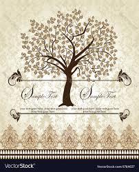 Invitation Card Family Reunion Invitation Card Royalty Free Vector Image