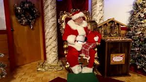 bronners christmas store seeing santa claus mp4 youtube