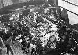 e type v12 engine removal