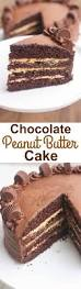 chocolate peanut butter cake tastes better from scratch