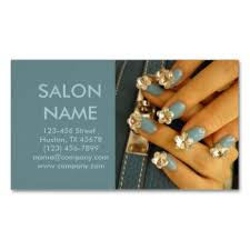 Beauty Spa Business Cards Nail Salon Magnetic Business Cards U0026 Templates Zazzle