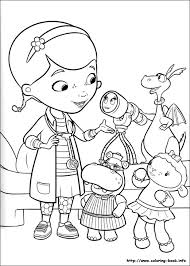 doc mcstuffins coloring pages coloring book