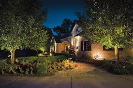 Yard Lighting Simple And Easy Home Landscape Lighting On Front Yard Of Beautiful