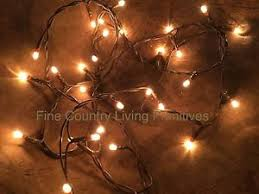 primitive farmhouse country teeny rice string lights 35