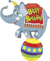 circus balloon shop 41 happy birthday circus elephant balloon instaballoons