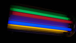 colored fluorescent light bulbs kolorowe rury barwne colored fluorescent tubes youtube