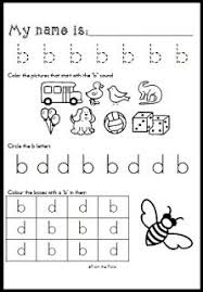 B And D Worksheets B D Letter Reversal Match Beginning Sound Worksheet