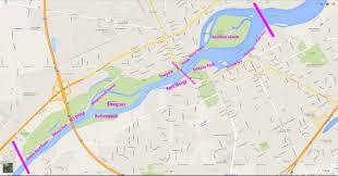 Run Map Maumee River Walleye Run Fishing Maps Guide