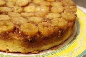 blog as you bake banana coconut upside down cake