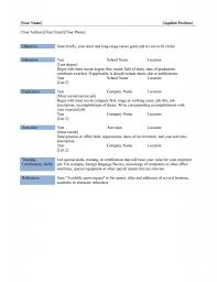 Free Fill In Resume Templates Free Printable Fill In The Blank Resume Templates Resume