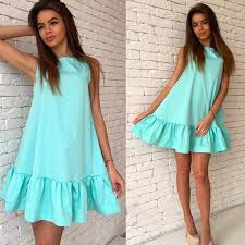 little summer dress light blue opendresses com