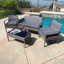 9pc outdoor rattan wicker sofa chair couch seat sectional patio