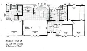 Double Wide Floor Plans With Photos Mobile Home Floor Plans 10 Great Manufactured Home Floor Plans