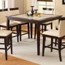 White Square Kitchen Table by Elegant Dining Room Design With Tall Square Kitchen Table Set