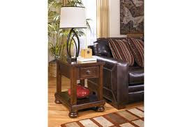 Chair Side Table With Storage Porter Chairside End Table Ashley Furniture Homestore
