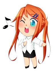 singing chibi take 2 by sp nova on deviantart