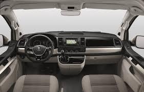 volkswagen 2017 campervan new vw t6 based california camper van unveiled