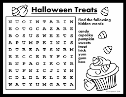 easy word search activities