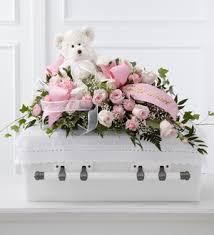 baby casket baby casket spray shiraz flowers gifts