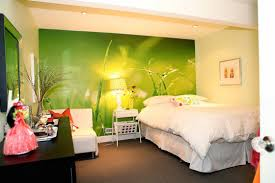 simple basement bedroom ideas for teenagers with green wall color