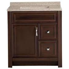 30 In Bathroom Vanity 30 Inch Vanities Bathroom Vanities Bath The Home Depot