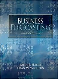 amazon demand forecast black friday amazon com business forecasting 9th edition 9780132301206