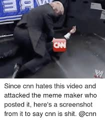 Video Meme Maker - since cnn hates this video and attacked the meme maker who posted it